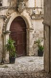 Viste della città di Matera fotografia stock