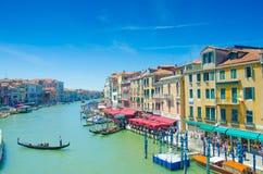 Viste della città di Venezia Immagini Stock