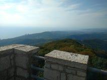 Viste della montagna di Soci Akhun Fotografie Stock
