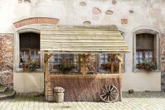 Viste della Polonia. Castello Bytow. Fotografia Stock