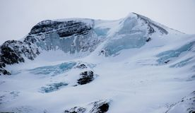 Viste della strada panoramica di Icefields immagine stock