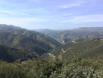 Viste della valle Fotografia Stock
