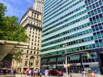 Viste della via di New York Fotografia Stock Libera da Diritti