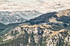 Viste delle dolomia, alpi italiane Immagine Stock Libera da Diritti