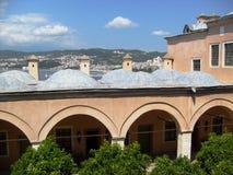 Viste delle moschee di Costantinopoli Fotografia Stock