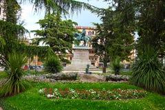 Viste delle vie di bella città di Perugia Fotografia Stock Libera da Diritti