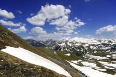 Viste di alta strada alpina del grossglockner in Austria Europa Immagini Stock