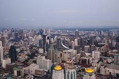 Viste di Bangkok nell'hotel del cielo di Baiyoke Fotografie Stock Libere da Diritti