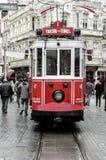 Viste di Costantinopoli Vecchio calibratore per allineamento rosso Fotografia Stock