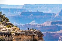 Viste di Grand Canyon Arizona fotografia stock