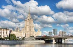 Viste di Mosca Fotografia Stock