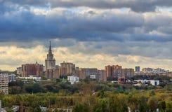 Viste di Mosca Fotografie Stock Libere da Diritti