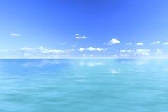 Viste di oceano Immagine Stock