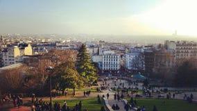 Viste di Parigi fotografia stock