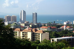 Viste di Pattaya, Tailandia immagini stock libere da diritti