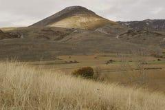 Viste di una montagna Fotografie Stock