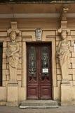 Viste di vecchia Odessa, le città dell'Ucraina, viaggio in Europa Orientale Immagini Stock