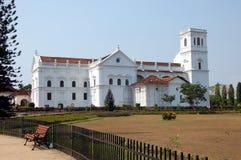 Viste ed architettura di vecchio Goa Immagini Stock Libere da Diritti