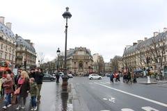 Viste francesi della via Fotografia Stock