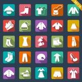 Viste iconos ilustración del vector