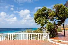 Viste intorno all'isola dei Caraibi del Curacao immagine stock