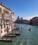 Viste lungo Grand Canal fotografia stock libera da diritti