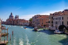 Viste lungo Grand Canal fotografie stock libere da diritti