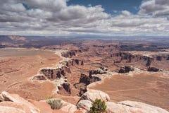 Canyon da sopra Fotografia Stock Libera da Diritti
