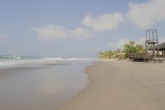 Viste panoramiche della spiaggia Fotografie Stock Libere da Diritti