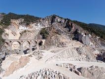 Viste panoramiche di Alpi Apuane Toscana Italia Fotografie Stock