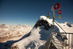 Viste sceniche intorno a Zermatt ed al Cervino, Svizzera Immagine Stock