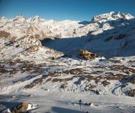 Viste sceniche intorno a Zermatt ed al Cervino, Svizzera Fotografie Stock
