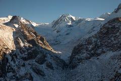 Viste sceniche intorno a Zermatt ed al Cervino, Svizzera Immagini Stock