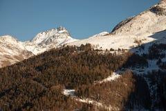 Viste sceniche intorno a Zermatt ed al Cervino, Svizzera Fotografie Stock Libere da Diritti
