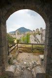 Viste sopra Carcassonne, Francia Fotografie Stock