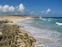 Viste sul mare in Cozumel Fotografie Stock Libere da Diritti