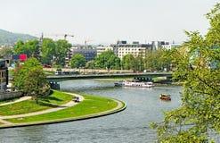 Vistula river. Royalty Free Stock Photography