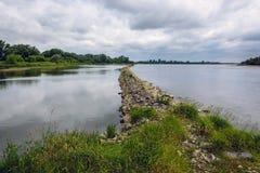 Vistula River in Poland Stock Images