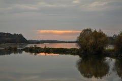 Vistula river in Kazimierz Dolny. Poland Royalty Free Stock Photos
