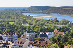 Vistula river in Kazimierz Dolny, Poland Royalty Free Stock Image