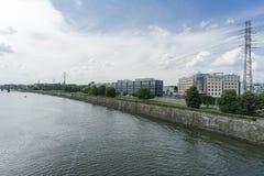 Vistula River in Krakow Royalty Free Stock Image