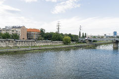 Vistula River in Krakow Royalty Free Stock Photo