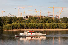 Vistula River Landscape Royalty Free Stock Images