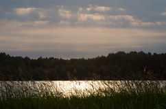 Vistula river near Warsaw Stock Photos