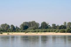 Vistula River near Warsaw Stock Image