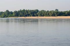 Vistula River near Warsaw Royalty Free Stock Photography