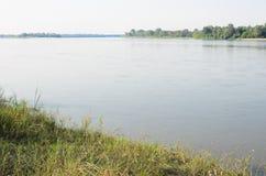 Vistula River near Warsaw Stock Images