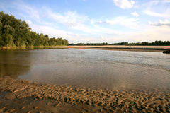 Vistula River - Poland Stock Photo