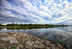 Vistula River - Poland Royalty Free Stock Photography