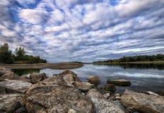 Vistula River - Poland Stock Image
